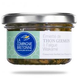 Emietté de thon germon à...