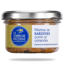 Rillettes de sardines cumin...
